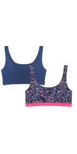 girls strappy sports bra