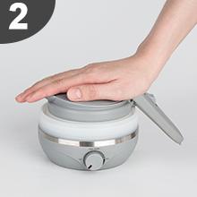 folding kettle steps