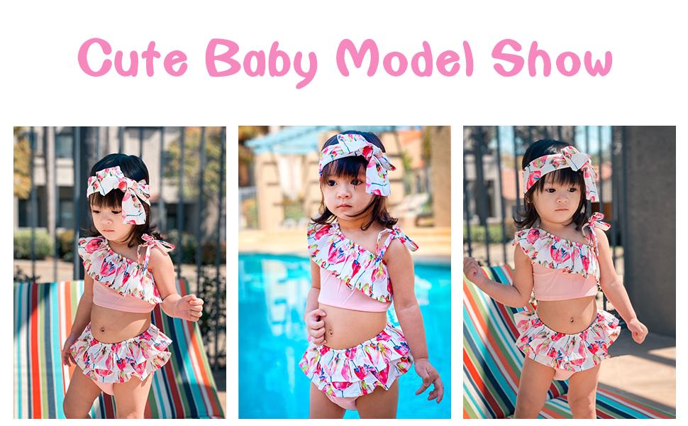 baby girl summer swimsuit