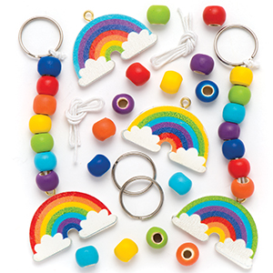 Rainbow Keyrings