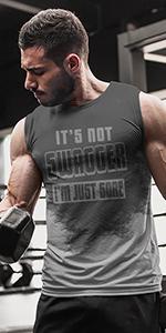 Sweat Activated T shirt From LeRage Shirt for Men Eith Motivational Hidden Message
