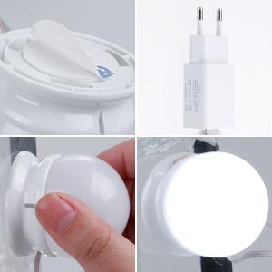 Anpro 3m LED Vanity Mirror Lights Kit