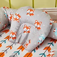 fox baby bassinets bed