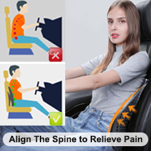 car elastic posture corrector back sitting support RV driver vehicle back support lumbar support