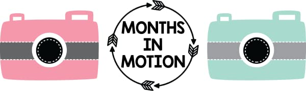Monthly Baby Stickers Months In Motion
