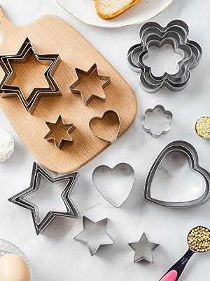 geometric cookie cutters