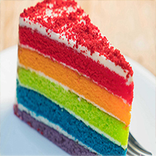 For Rainbow Cake Coloring