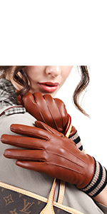 womens leather gloves with 3M thinsulate