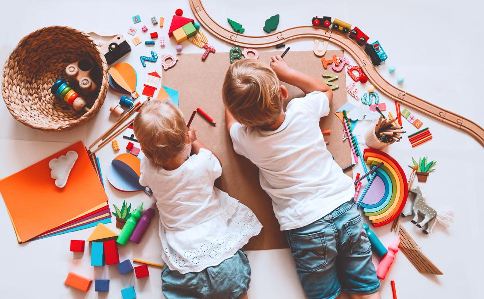 improve creativity and coordination  developmental skills montessori teaching