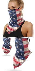 Flag neck gaiter