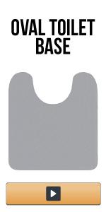 oval base