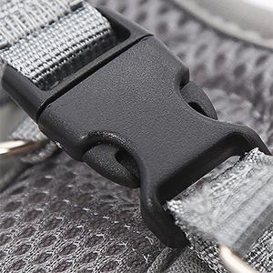 Dog harness safty buckle