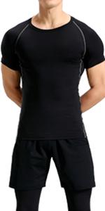 lavento men's compression shirts short sleeve