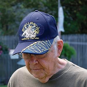Shellback US Navy Military Hat Ball Cap