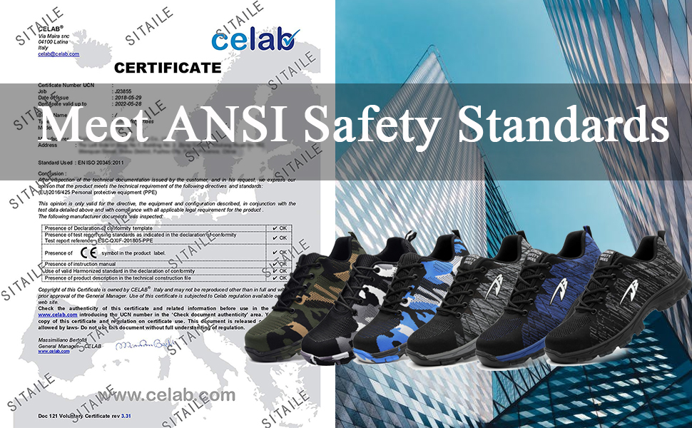 women safety shoes