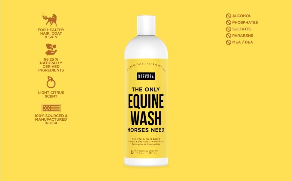 equine wash