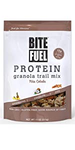 coconut pineapple high protein cereal meal replacement gluten free soy free non gmo