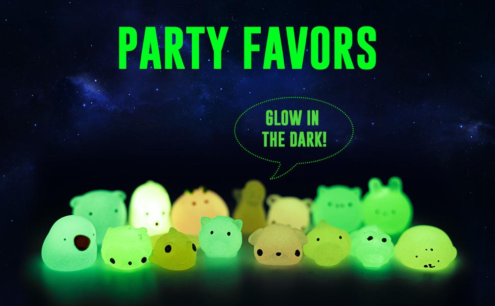fluorescent mochi squishys! Light up a child's Joy!