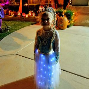 LED LIGHT UP DRESS