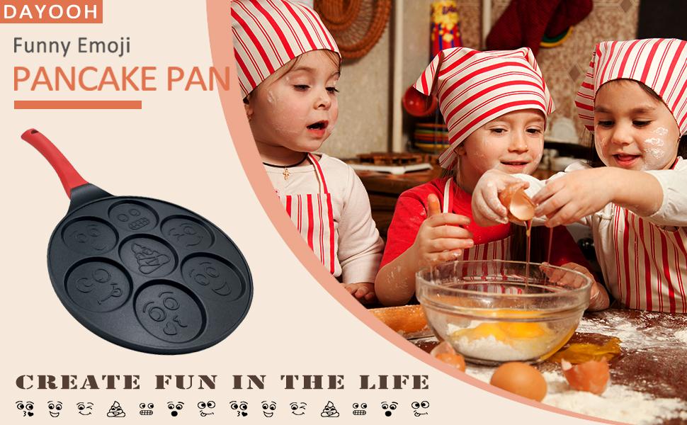 Pancake Maker Smiley Pan