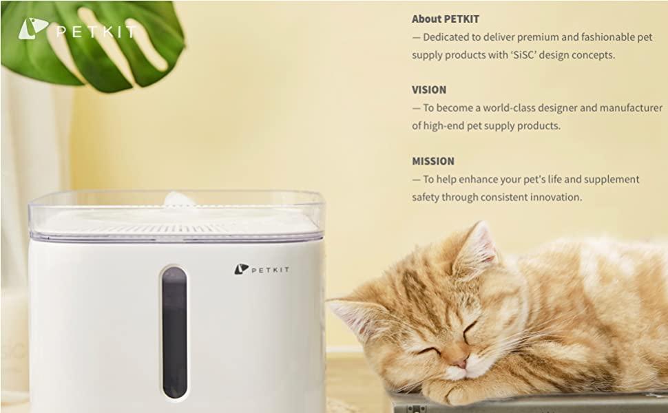 petkit cat water dispenser smart water fountain cat drinking water fountain