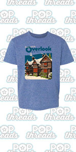 Overlook Hotel Horror Movie Makes Jack A Dull Boy Toddler Kids Girl Boy T-Shirt