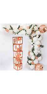 Bridal Shower Decorations Balloon Boxes