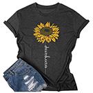 Women sunflower t-shirt