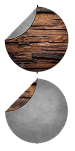 wood grey Collapsible Backdrop