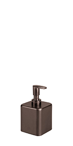 Modern Square steel soap master guest 2 tone vanity hand wash