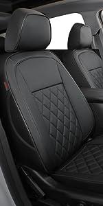 Equinox  black seat cover