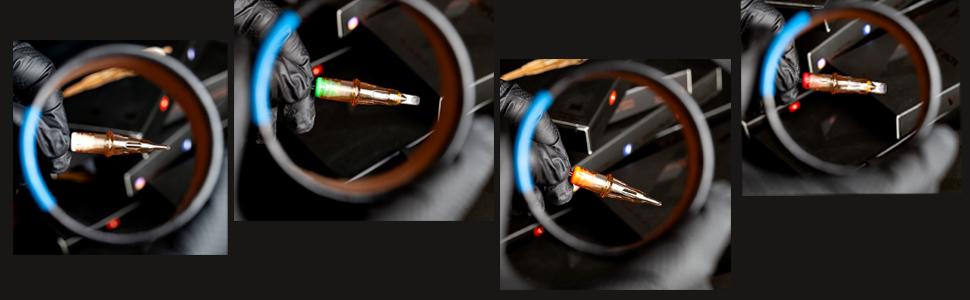 eztat2 cartridge needles regular roun liner shader curved magnum bugpin