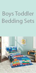 boys toddler bedding set