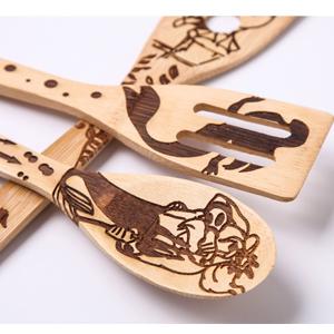 mermaid wooden spoons
