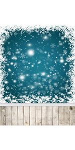 snowflakes backdrop