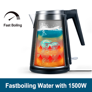 Fast Boiling Water with 1500W