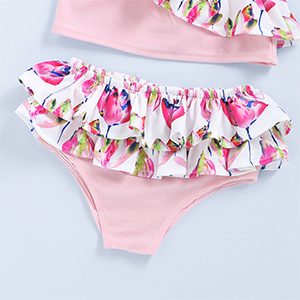 3pcs baby girl swimsuit outfits