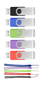 Thumb Drives 32GB USB 2.0 Bulk 5 Pack