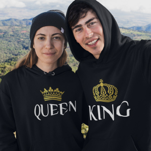king and queen matching shirts for couples cute shirt