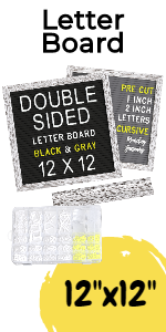 Double Sided Felt Letter Board