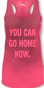 Women Sweat Activated Tank Top Pink