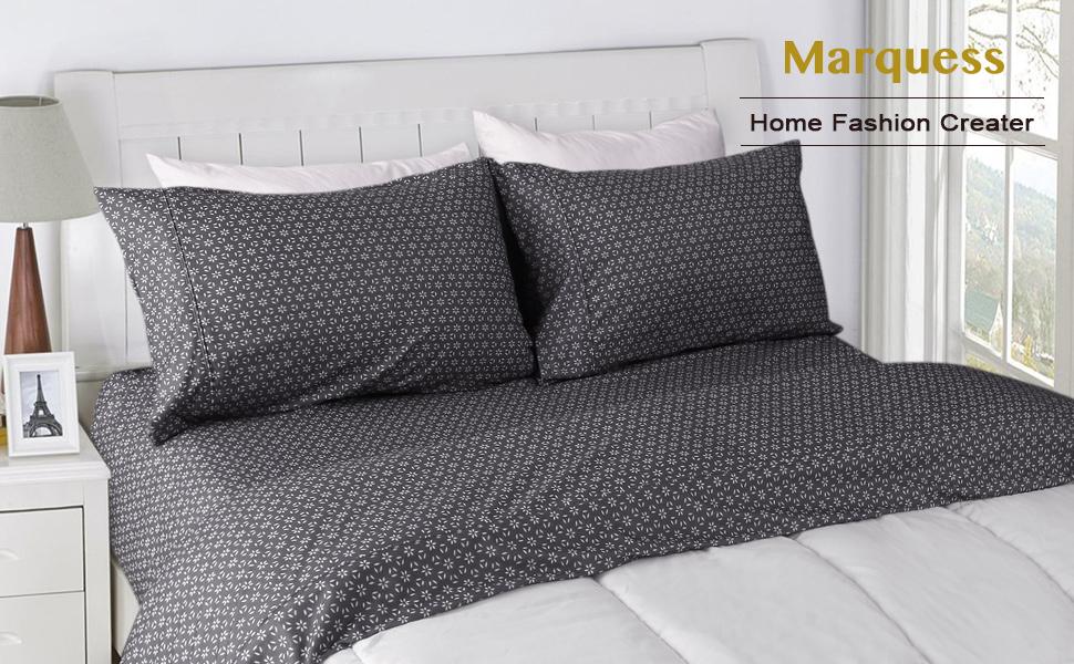 MARQUESS microfiber flannel sheet set