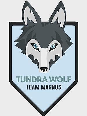 Tundra wolf team magnus logo winter range christmas gift fro girls and boys warm wool socks
