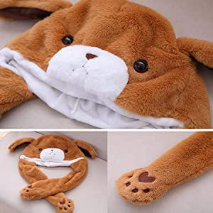 Bear Hat with moving ear