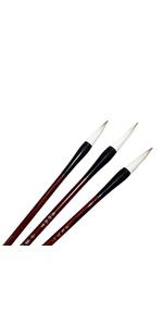 Chinese calligraphy brush sumi brush watercolor brush goat wolf
