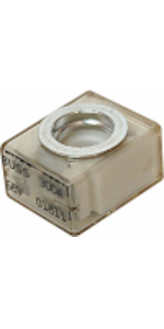 "Bay Marine Supply MRBF Fuse Mount Holder Block 5/16"" M8 5190 Compact Automotive Battery Fuse"