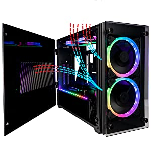 Superior Airflow with 4 high quality fans