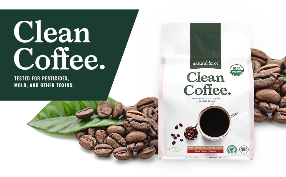 natural force clean coffee is tested for toxins mold mycotoxins
