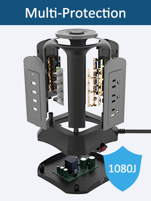 surge protector with USB port
