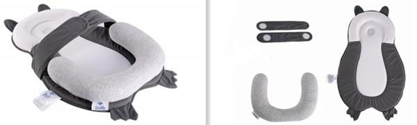 BESTLA Head Support Anti-Rollover Portable Baby Bed Mattress for Newborn Age 0-4 Months
